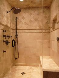 Could use tile design for bathtub shower combo surround. Travertine Tile  Shower Design, Travertine Slate Shower Design, Pictures, Remodel, Decor and  Ideas