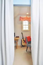 home office alternative decorating rectangle. Curtain Seprarate The Home Office Makeover In Coral And Blue Alternative Decorating Rectangle