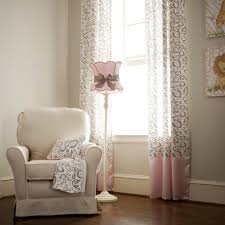 Printed Curtains Living Room Pink Leopard Print Curtains