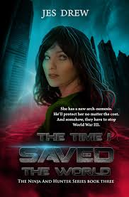sold book cover the time i saved the world by cathleentarawhiti