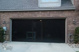 garage screen doorsCheck out my new Garage Screen  So AWESOME  Shanty 2 Chic