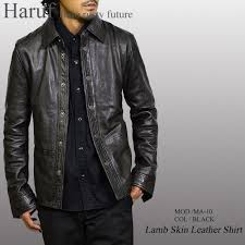 leatherette jacket leather shirt leather jacket men genuine leather shirt jacket skin jean leather shirt motorcycle leather blouson lamb leather big size