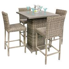 patio table and chairs set counter height patio table outdoor dining table for metal patio table