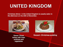 This is not a usual christmas dish, as it has too much other rich food to compete with during the christmas feast, however, it will fit the bill perfectly. Traditional Christmas Food