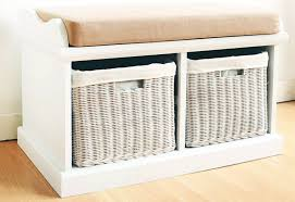Impressive Small White Storage Bench White Small Bench With