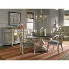 Art Furniture Belmar New Pine Round Dining Table Set With