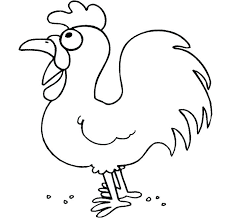 Coloring Page Chicken Chicken Coop Coloring Page Coloring Page Of