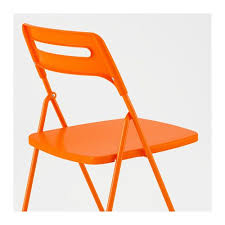 folding chairs ikea. Unique Chairs NISSE Folding Chair Orange Inside Chairs Ikea F