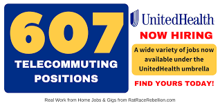 Telecommuter Jobs 607 Telecommuter Positions Now Available With Unitedhealth Group