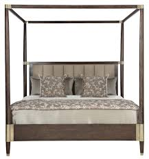 King Size Headboard And Frame Set Platform Canopy Bed Frame Canopy ...