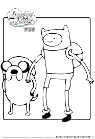 cartoon network coloring book adventure time pages game colouring games col coloring pages cartoon characters free of network