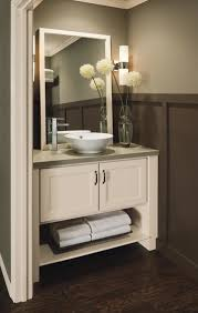 bathroom cabinets for vessel sinks. furniture gorgeous corner vanity for bathroom with round ceramic vessel sink and polished stainless steel faucet cabinets sinks l