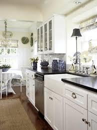 Good Antique White Galley Kitchen