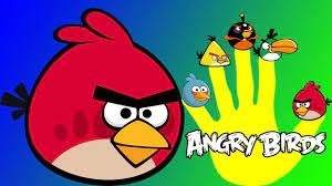 Learnfun - Angry birds Finger Family song | Daddy finger Angry birds and  More