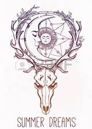 Dream Catcher Satanic Hand Drawn Romantic Beautiful Drawing Of A Dream Catcher Adorned 45