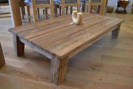 reclaimed wood refectory dining table full