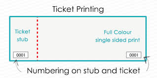 Event Ticket Printing Software Golden Ticket Printing