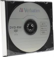 Купить CD DVD <b>диск Verbatim DVD</b>-<b>RW 4.7Gb</b> 4x в Москве: цена ...