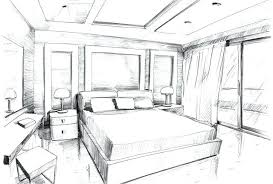 Interior Design Bedroom Sketches Bedroom ...