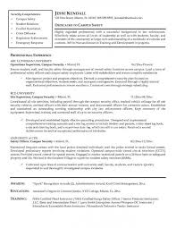 security officer resume - Security Officers Responsibilities