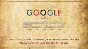 old school google