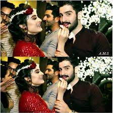 aiman khan and muneeb butt getting engaged on th aiman khan and muneeb butt getting engaged on 6th fashion showbiz magazine