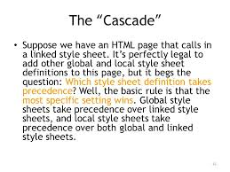 Cascading Style Sheets Ppt Video Online Download