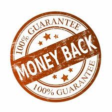 Hasil gambar untuk gambar garansi uang kembali