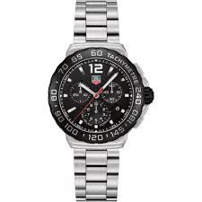 tag heuer men s carrera analog display swiss automatic silver watch tag heuer men s formula 1 black dial chronograph steel watch