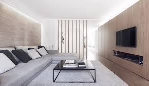 apartment design. Exellent Design A Subtle Spanish Apartment Done In White And Wood Tones  Intended Design