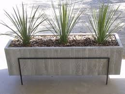 cement planter boxes for sale. Unique For Large Wood Grain Concrete Planter With Cement Boxes For Sale O