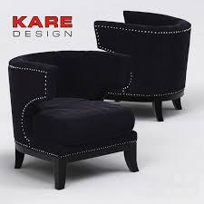 3d модели: <b>Кресла</b> - <b>Кресло KARE</b> Arm <b>Chair Art Deco</b>