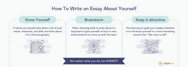 how to write an essay about yourself essaypro how to write an essay about yourself