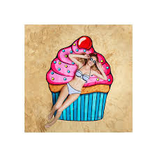 cool beach towels for girls. Gigantic Cupcake Beach Towel Cool Towels For Girls
