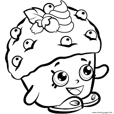 Small Picture Mini Muffin shopkins season 1 Coloring pages Free Printable