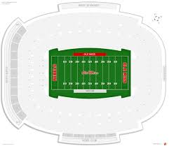 Vaught Hemingway Stadium Ole Miss Seating Guide