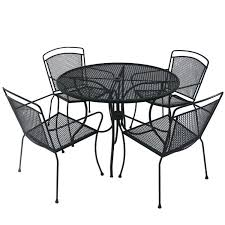 black wrought iron patio furniture. Wrought Iron Patio Table Attractive Black Furniture New I