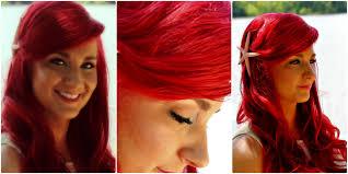 Red Hair Style the little mermaid hair tutorial ariel mermaid hairstyle with 1862 by stevesalt.us