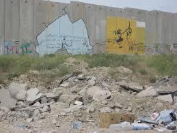 i west bank barrier art books film