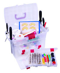 Cake Decorating Equipment Storage Box ArtBin Baker's Cupboard Easy View Cake Decorating Storage Cabinet 2