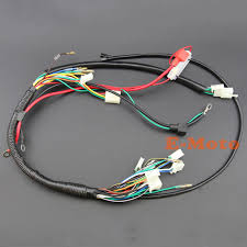 aliexpress com buy wire loom wiring harness wireloom 50cc 70cc wire loom wiring harness wireloom 50cc 70cc 110cc 125cc atv quad bike buggy go kart