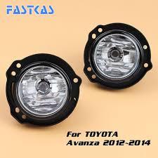2006 Toyota Highlander Fog Light Kit Car Fog Light Assembly For Toyota Avanza 2012 2013 2014 Left