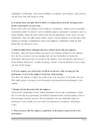 Writing Self Appraisal Performance Review Evaluation