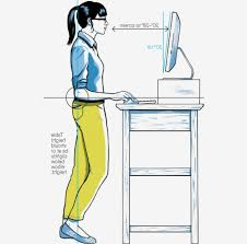get a standing desk wired regarding attractive property stand up desk height prepare