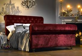 nice velvet sleigh bed with 1000 images about velvet on bespoke bedding sets and