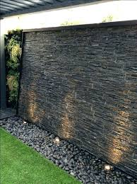 diy water wall waterfall fountain contemporary patio kit wallpaper stylish cascading feature cascade effect spillway