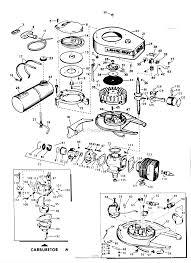 Lawn boy 7256 lawnmower 1967 sn 700000001 799999999 parts