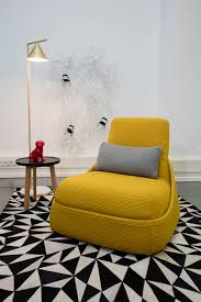 office chaise. Office Chaise Lounge Chair. The Yellow Hosu Chair Stands Out On Black And White G