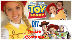 Homemade Disney Costume Ideas Diy Disney Toy Story Jessie Costume Easy And Affordable Youtube