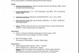 Awesome Resume 1 Year Experienced Software Engineer Pictures